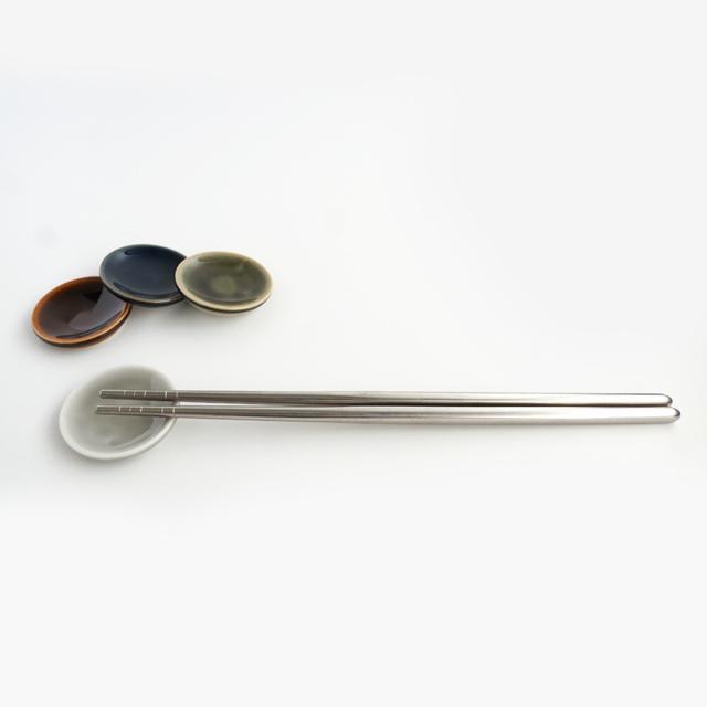 円柱豆皿 金善製陶所