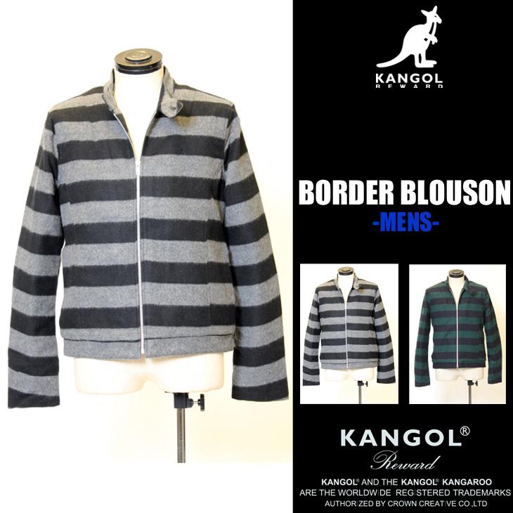 KANGOL REWARD ボーダーブルゾン