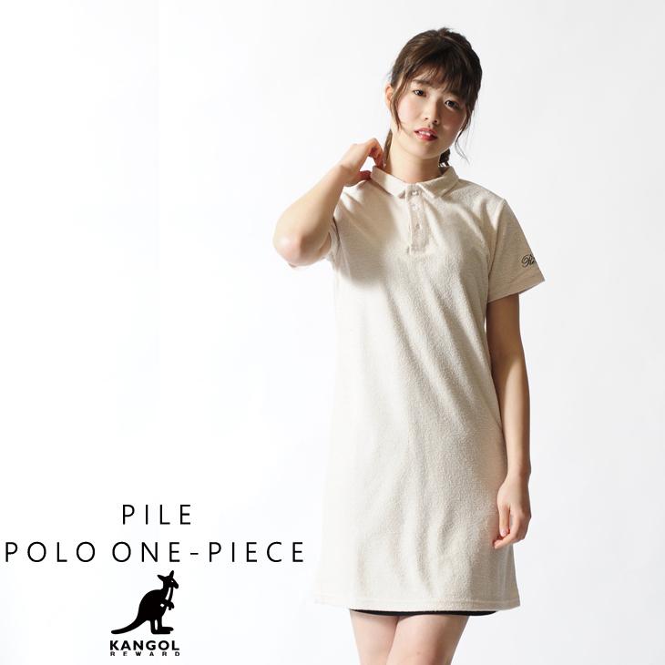 KANGOL REWARD ワンピースポロシャツ