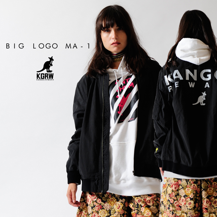 【予約商品】KANGOL REWARD BIG LOGO MA-1