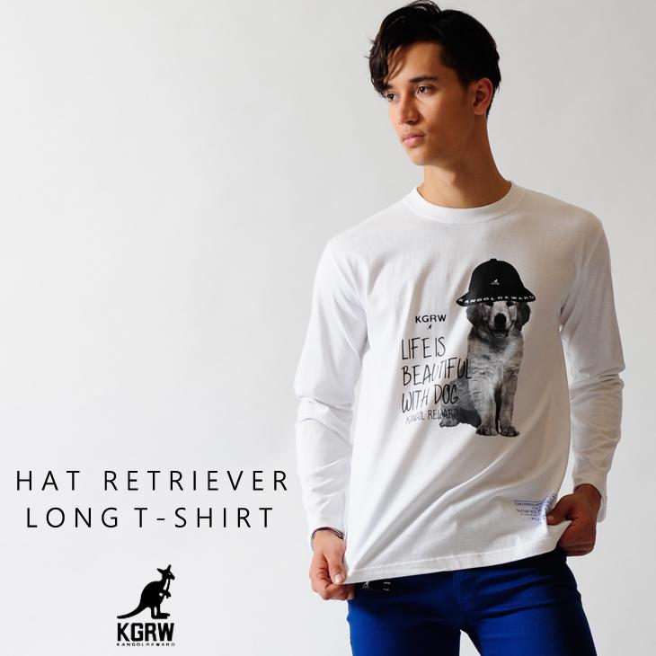 KANGOL REWARD HAT レトリーバー長袖Tシャツ