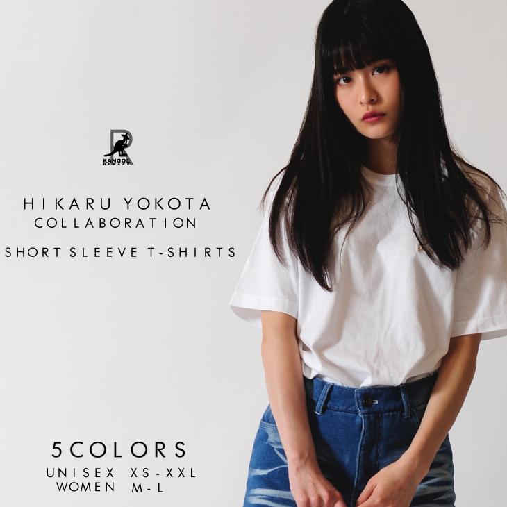 【完全受注生産  横田ひかる×KANGOL REWARDコラボアイテム】 「R」ロゴ半袖Tシャツ