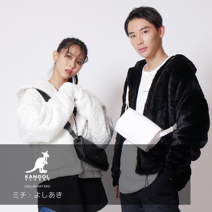 【完全受注生産】   ミチ・よしあき ×KANGOL REWARDコラボ ショルダーバッグ