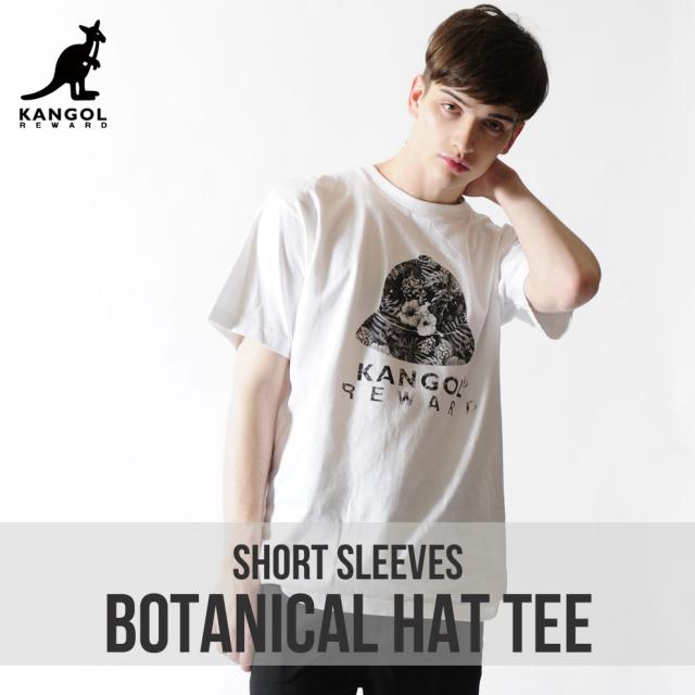 KANGOL REWARD ボタニカルハットTシャツ