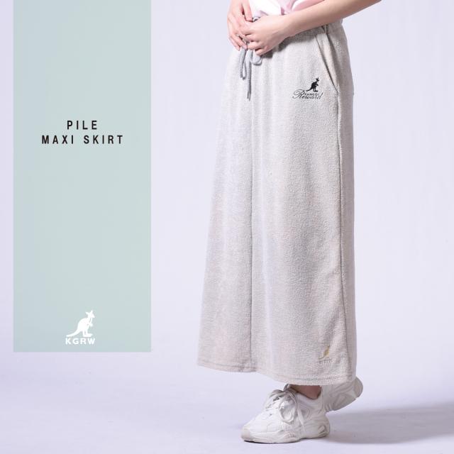 KANGOL REWARD マキシ丈スカート