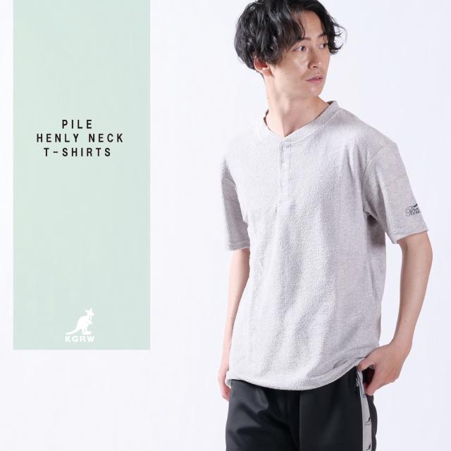KANGOL REWARDヘンリーネックTシャツ