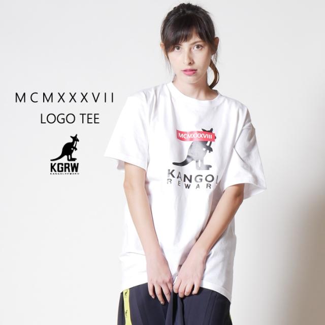 KANGOL REWARD MCMXXXV II ロゴTEE