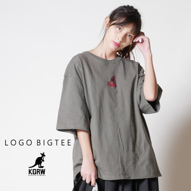 KANGOL REWARD ロゴBIG TEE