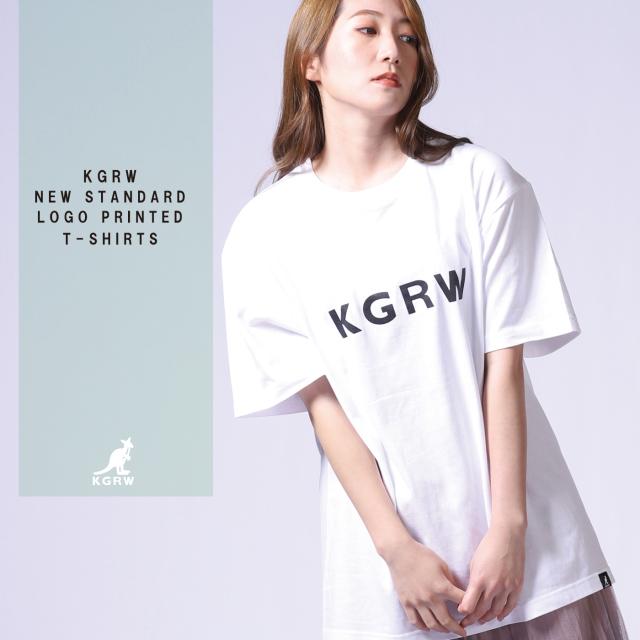 KGRW NEW STANDARDロゴプリント半袖Tシャツ