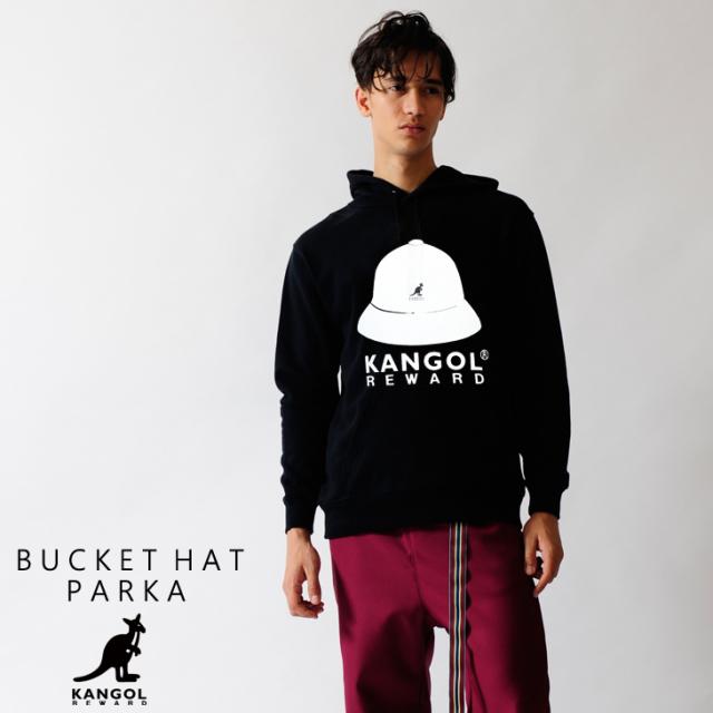 KANGOL REWARD バケットハットプルオーバーパーカー