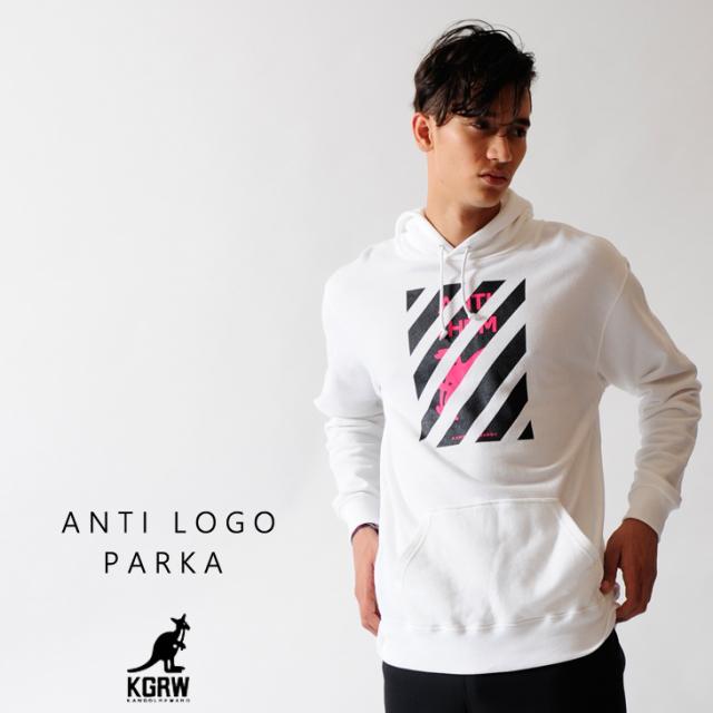 KANGOL REWARD アンチロゴ パーカー