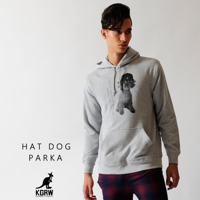 KANGOL REWARD HAT DOG パーカー