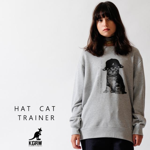 KANGOL REWARD HAT CATトレーナー