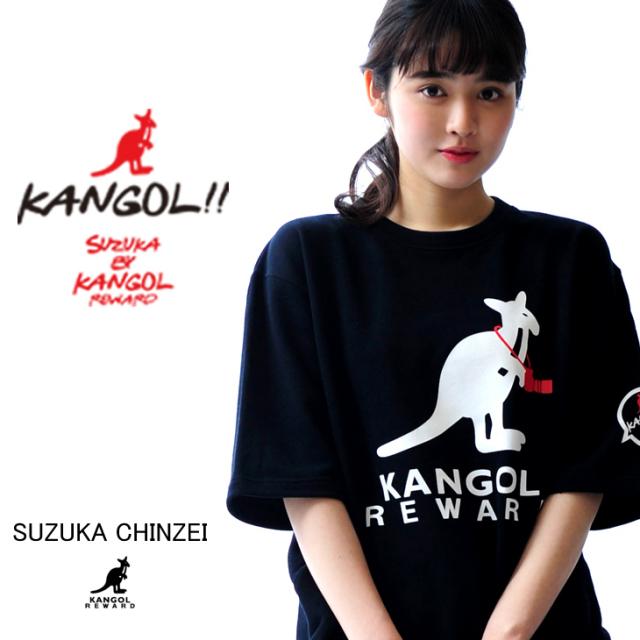 【完全受注生産  鎮西寿々歌×KANGOL REWARDコラボアイテム】 Camera半袖トレーナー