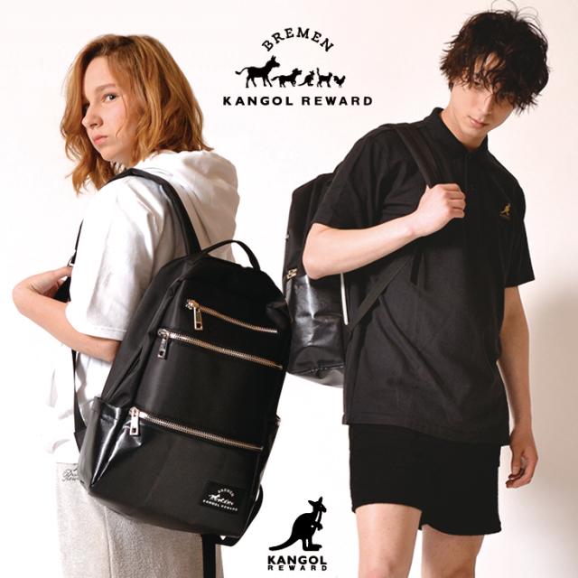 【完全受注生産】   BREMEN×KANGOL REWARD コラボレーション第二弾◆  コラボデイバッグ