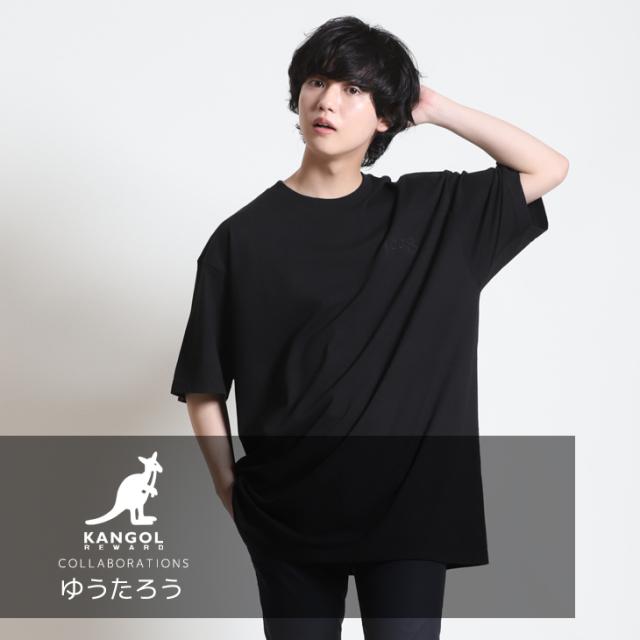 【完全受注生産】 ゆうたろう×KANGOL REWARD コラボ半袖Tシャツ