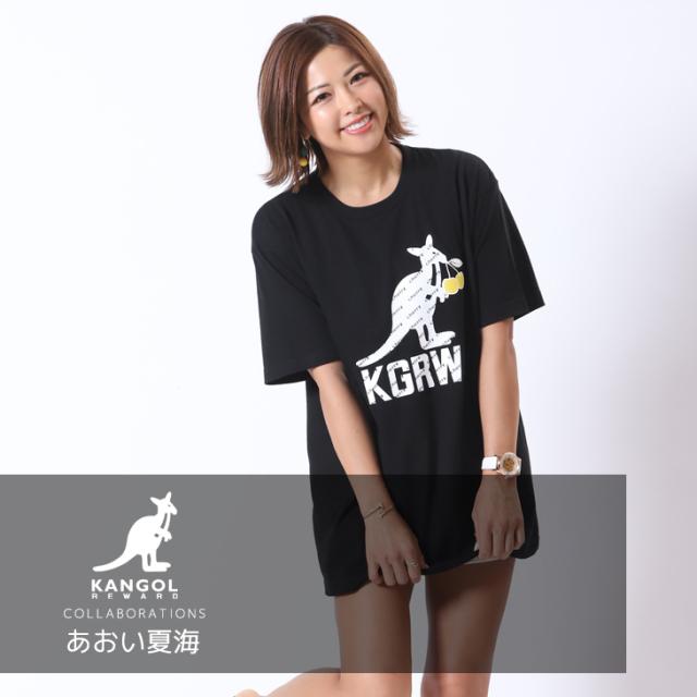 【完全受注生産】 あおい夏海×KANGOL REWARD コラボ半袖Tシャツ