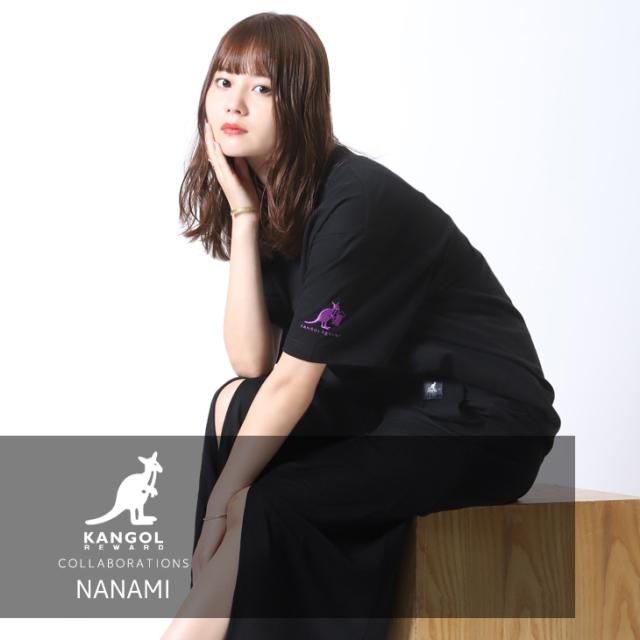 【完全受注生産】 NANAMI×KANGOL REWARD コラボ半袖Tシャツ