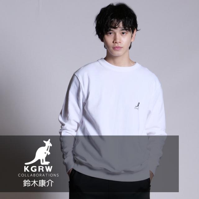 【完全受注生産】  鈴木康介×KANGOL REWARDコラボ トレーナー