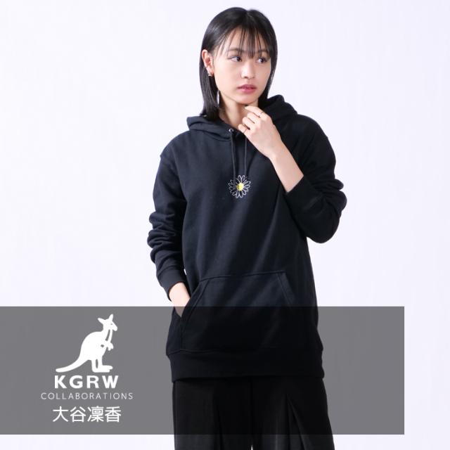 【完全受注生産】 大谷凜香×KANGOL REWARDコラボ プルオーバーパーカー