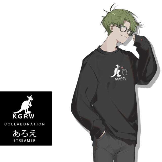 【完全受注生産】あろえ×KANGOL REWARD  コラボ長袖Tシャツ