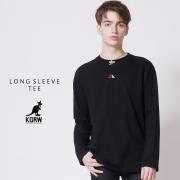 KGRW 3D 2D 刺繍 長袖Tシャツ