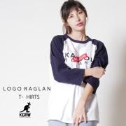 KANGOL REWARD ロゴ ラグランTEE