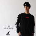 KANGOL REWARD ロゴヘアバンド