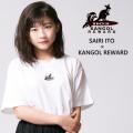 【完全受注生産  伊藤沙莉×KANGOL REWARDコラボアイテム】 Surf1103半袖Tシャツ