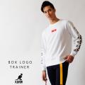 KANGOL REWARD ボックスロゴ トレーナー