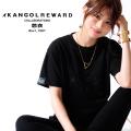【完全受注生産】   悠衣×KANGOL REWARD インフルエンサーコラボ半袖Tシャツ