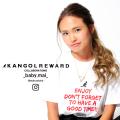 【完全受注生産】   _baby.mai_×KANGOL REWARD インフルエンサーコラボ半袖Tシャツ