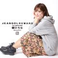 【完全受注生産】  橘ひろな ×KANGOL REWARD コラボ プルオーバーパーカー