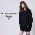 【完全受注生産】  tamaki × KANGOL REWARD コラボ プルオーバーパーカー
