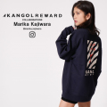 【完全受注生産】  Marika Kajiwara ×KANGOL REWARD コラボ トレーナー