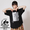 【完全受注生産】   鎮西寿々歌×KANGOL REWARD コラボレーション第二弾  コラボ半袖Tシャツ