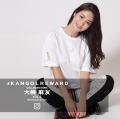 【完全受注生産】   大柳麻友×KANGOL REWARD インフルエンサー コラボ第二弾◆半袖Tシャツ