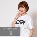 【完全受注生産】   miki×KANGOL REWARD インフルエンサーコラボ第二弾◆半袖Tシャツ