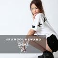 【完全受注生産】  CHIHA×KANGOL REWARD インフルエンサーコラボ第2弾◆半袖Tシャツ