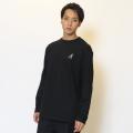 KANGOL REWARD  金糸ロゴ刺繍長袖Tシャツ