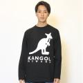 KANGOL REWARD ロゴBIGプリント長袖Tシャツ