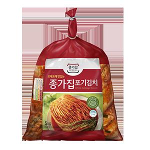 ◆冷蔵◆「宗家」白菜キムチ5kg■韓国食品■ 0201