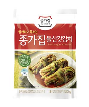 ◆冷蔵◆「宗家」カッキムチ350g■韓国食品■ 0206