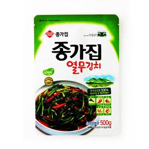 ◆冷蔵◆「宗家」ヨルムキムチ500g■韓国食品■ 0209