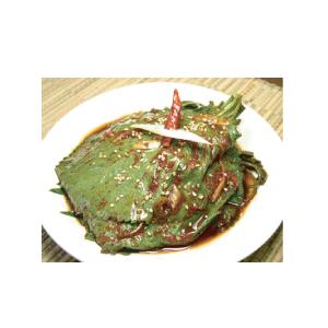 ◆冷蔵◆自家製えごまの葉キムチータレ500g■韓国食品■ 0213