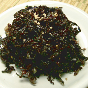◆冷蔵◆自家製海苔ムチム300g■韓国食品■ 0238