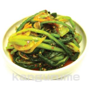 ◆冷蔵◆自家製小松菜キムチ1kg■韓国食品■ 0274