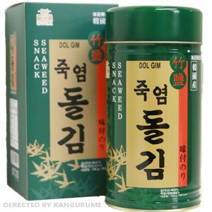 「のし対応」竹塩岩海苔「1缶入」■韓国食品■ 0309-s