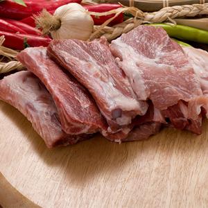 ▲冷凍▼焼用豚スペアリブ「豚骨付きカルビ」1kg■韓国食品■ 0426
