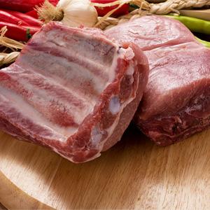 ▲冷凍▼【量り売り】スペアリブブロック1kg■韓国食品■ 0443